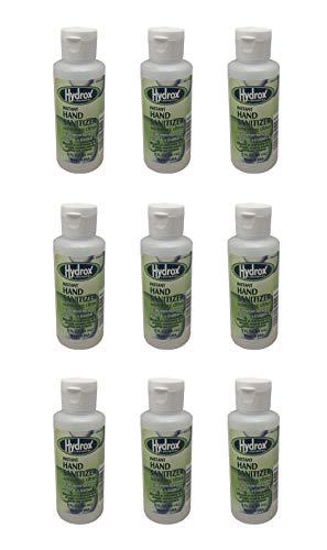 Hydrox Instant Hand Sanitizer – 2 oz Bottle - Bundle of 9...