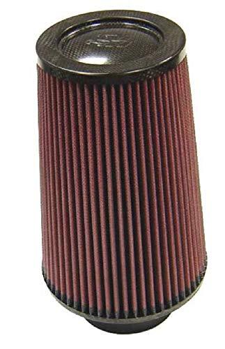 K and N RP-5118 Luchtfilter voor motorfiets, universeel, met koolstofvezel bovendeel