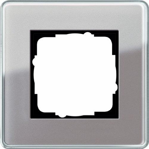 Gira 0211522 Abdeckrahmen 1 Fach Gira Esprit Glas C, Umbra