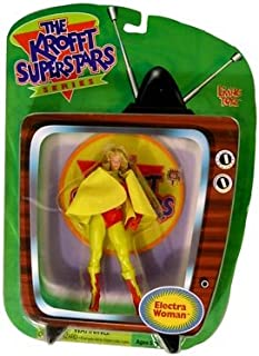 Krofft Superstars Electra Woman Action Figure