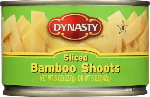 Dynasty Sliced Bamboo Shoots, 8 oz (Pack of 4)