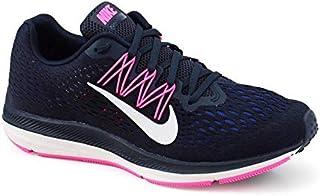77d6c7f549 Tênis Nike Wmns Zoom Winflo 5 Marinho Pink Branco - AA7414-401