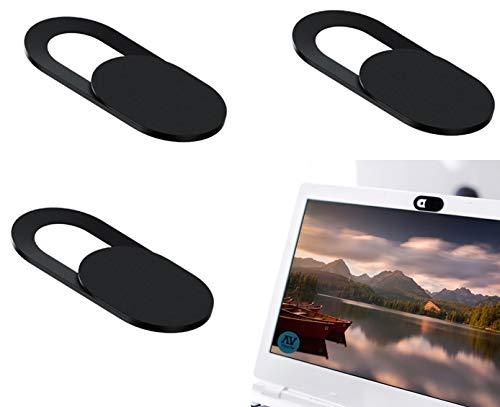 Vynche 3 Tapa Webcam Compatible con Macbook, Macbook Pro, Laptop, iPhone, iPad Pro, PC/computadora y Tableta