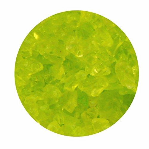 Glasgranulat maigrün 1kg 2-4 mm Dekogranulat