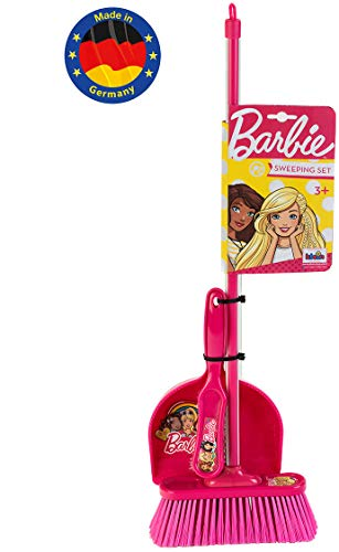 Theo Klein 6351 - Barbie Classic Kehrset, 3-teilig, Spielzeug