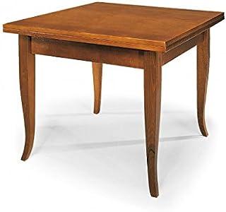 Vintage Home TAVOLINO BACHECA PIANO LEGNO 60x60x45h