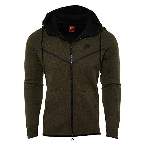 Nike Sweat à Capuche Sportswear Tech Fleece Windrunner - Ref. 805144-222 - XL