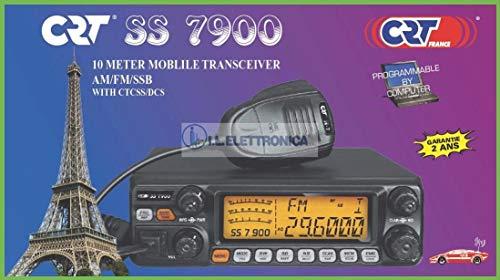 Unbekannt CB-Radio Mikrofon-Cliphalter Stationshalterung unterstützen Netzkabel Radio CB CRT SS 7900 AM/FM/LSB/USB, Schwartz, PNI-CRTSS7900