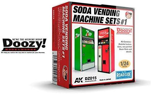 Doozy Soda Vending Machine Set 1 Building Manufacturer regenerated product - Plastic # Model A surprise price is realized