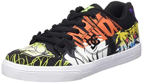 DC Shoes Jungen Pure TX SE Skateboardschuhe, Grau (Multi Mlt), 29 EU
