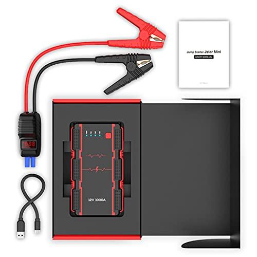 Jump Starter 13000mah 1000a Mini Power Bank para 12v Coche Starter Emergency Auto Coche Batería
