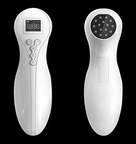 Hochleistungs Softlaser Lasertherapiegerät mit Schutzbrille, Akupunktur Cold Low Level Laser Therapie Neues 2020 USB Edition