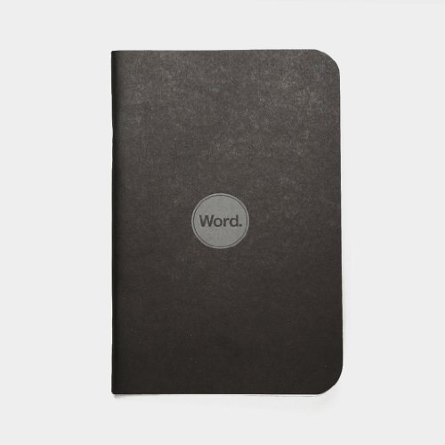 Word Notebooks Black Photo #2