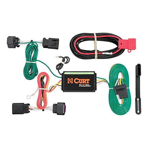 CURT 56209 Vehicle-Side Custom 4-Pin Trailer Wiring Harness for Select Ram ProMaster
