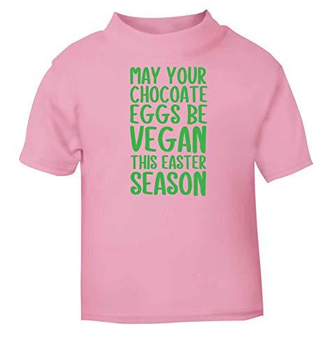 Flox Creative T-Shirt pour bébé Motif œufs au Chocolat - Rose - 1-2 Ans