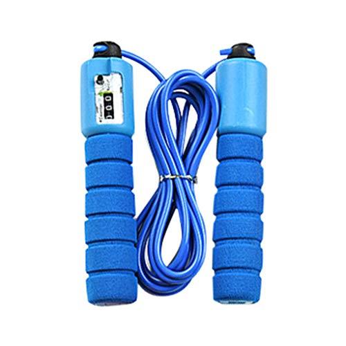 FeiliandaJJ 2Pcs Springseile für Kinder Erwachsene,3m Länge,Einstellbar, Home Fitness Indoor Outdoor Sport Jump Rope springseilen mit Softgriffen (Blau)