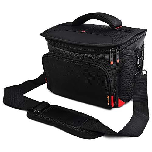 Photo of FOSOTO Anti-shock Camera Case Bag with Raincover Compatible for Nikon D3500 D3200 D5600 D5300 D7500 D7200 D610, Canon EOS 6D MarkII 4000D 2000D,Sony Alpha A7RIII 68K for DSLR/SLR Lenses Accessories