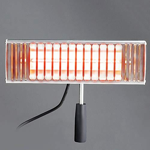 1000W Lámpara de secado de pintura infrarroja para hornear, portátil de cuerpo de coche con onda corta, calentador infrarrojo de onda corta | Fácil de controlar la temperatura para paneles