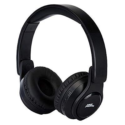 No Fear Unisex Ergonomic Comfortable Bluetooth Headphones (Black, N)