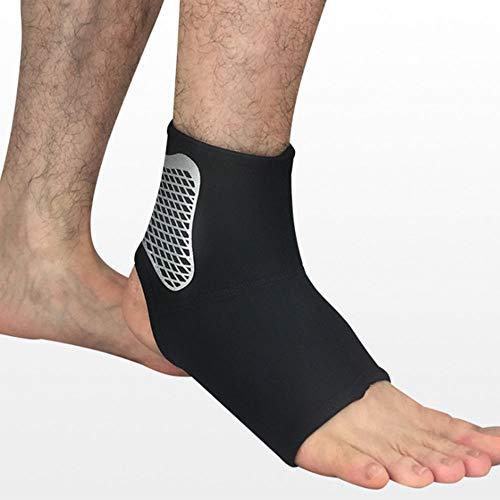 fang zhou Knöchelschutz Unterstützung Fitness Sport Fußschutz, Unisex elastisch atmungsaktiv, verwendet für Muay Thai, Kickboxen, Boxen, Basketball
