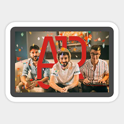 AJR - Party Design - Sticker Graphic - Car Vinyl Sticker Decal Bumper Sticker for Auto Cars Trucks