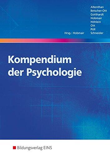 Kompendien der Pädagogik und Psychologie: Kompendium der Psychologie: Schülerband