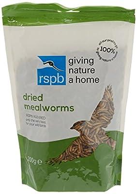 RSPB 200g Dried Mealworms by RSPB Sales Ltd