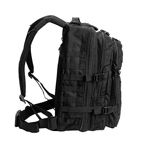 Pack de asalto MOLLE táctico con mochila de patrulla...