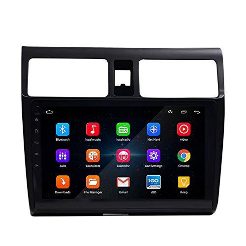 Youmine 2 DIN Coche Radio 9 Pulgadas HD Coche Mp5 Reproductor Multimedia Android 8.1 Coche Radio NavegacióN GPS WiFi para Swift 2005-2015 A