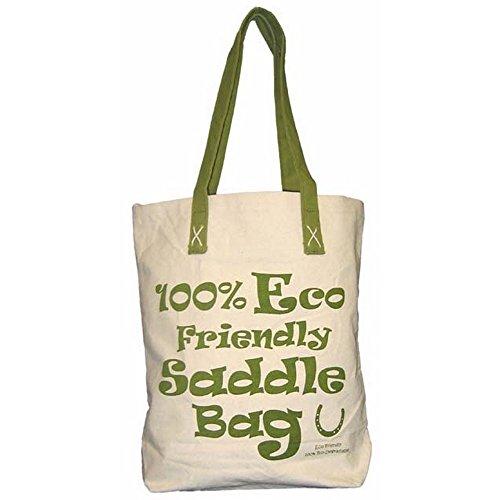 Moorland Rider Horsey Girl-Borsa per la Spesa, Colore: Verde Unisex-Adulto, Standard