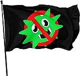 'N/A' Cor&-onaVirus icono 35 bandera de Estados Unidos 3X5 bandera de Estados Unidos bandera pie banderas bandera jardín casa banderas bandera al aire libre