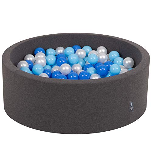 KiddyMoon 90X30cm/200 Palline ∅ 7CM Piscina di...