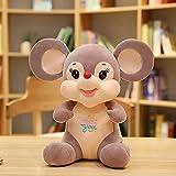 YYhkeby Lindo ratón peluche juguetes adorables animales muñeca suave almohada para niños bebé niños cumpleaños regalos de boda 70 cm A Jialele (color: B, tamaño: 25 cm)