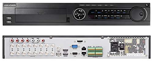 DVR, ACUSENSE 16CH/16CH DEEP LEARNING 8MP + 1*HDD Vídeo 2TB iDS-7316HUHI-K4/16S
