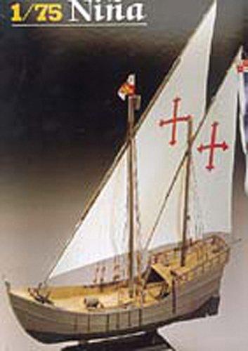 Heller 80815 - Modellino da Costruire, Caravella Nina, Scala 1:75 [Importato da Francia]
