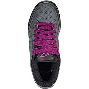 Giro Riddance W Womens Downhill Cycling Shoe − 36, Dark Shadow/Berry (2020)