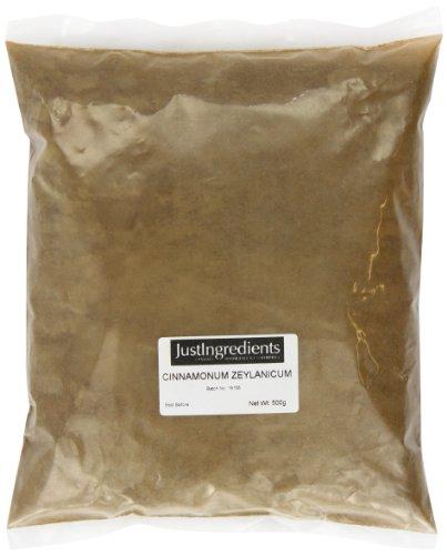 JustIngredients, Essential Cinnamon Ground Canela Molida (Auténtica), 2 Packsx500 gr