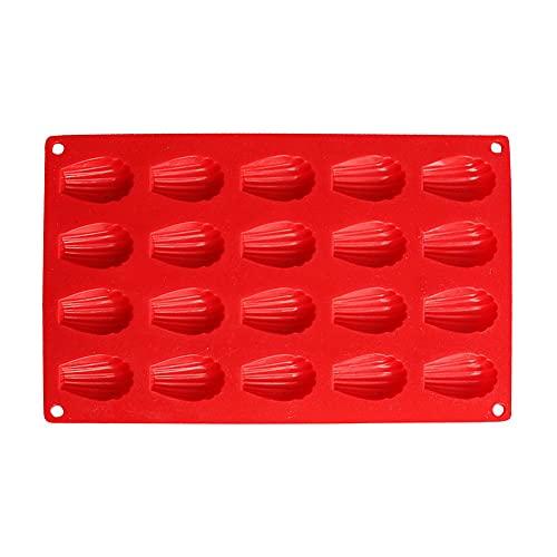 Queta Molde de Silicona de Bizcoletas Mini Molde de Silicona para Tartas...