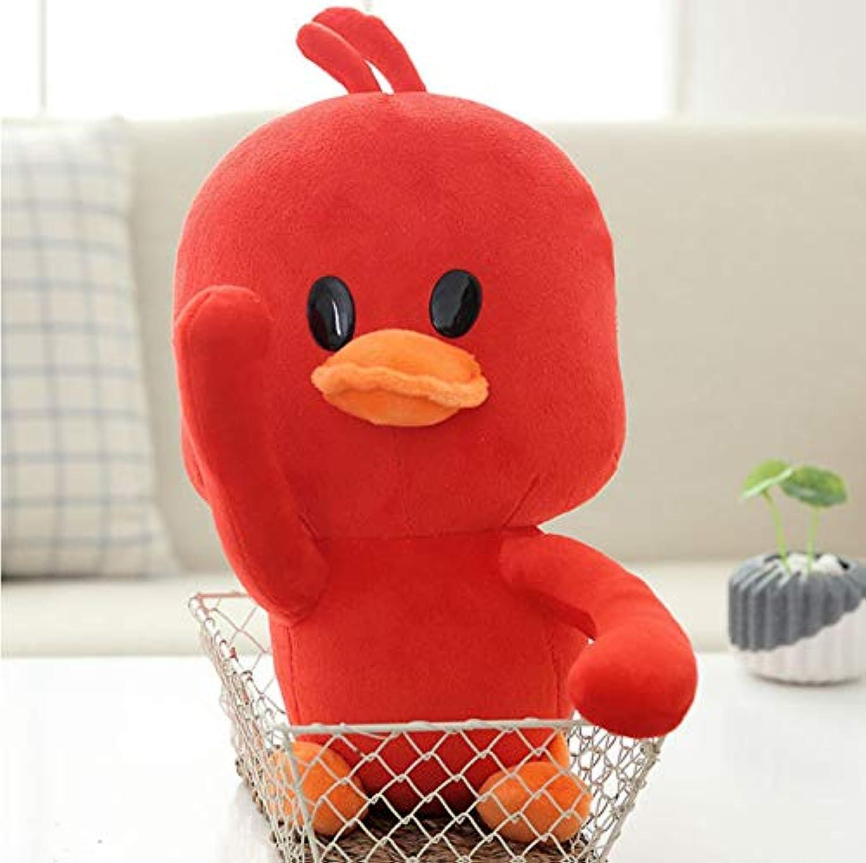 Ycmjh Weiches Plüschtier Tierkissen Rote Ente Puppe Spielzeug Mdchen Geburtstagsgeschenk 70cm