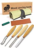 Best Woodcarving Sets - BeaverCraft, Wood Carving Chisel Set SC01 - Gouge Review