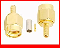 FENGYI KEJI 10 pcs Reverse SMA Plug(jack pin) connector crimp for RG316
