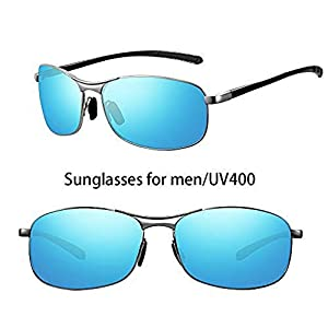 Polarized Sunglasses for Men Women, HD Vision Lens with Advanced Composite Coating UV Protection Retro Sun Glasses