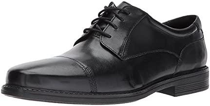 Bostonian Men's Wenham Cap Oxford, Black, 9.5 M US