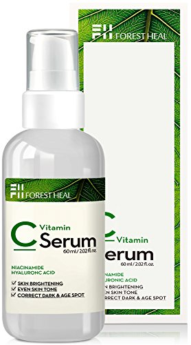 Vitamin C Serum For Face - Dark Spot Corrector with Hyaluronic Acid, Niacinamide - Anti Aging, Wrinkle Repair and Skin Brightening