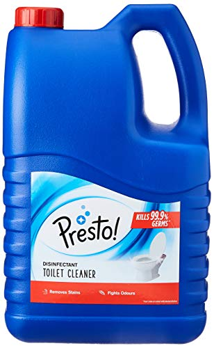 Amazon Brand - Presto! Disinfectant Toilet Cleaner - 5 L