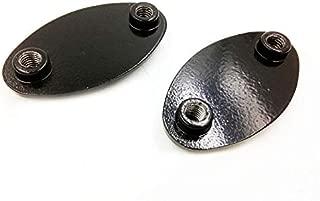 ninja 250r mirror block off plates