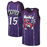 KKSY Trikot Vince Carter # 15 Retro NBA Jersey Toronto Raptors Basketball Trikot,A,L