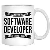 N\A Softwareentwickler Kaffeetasse - Lustige Anerkennungsgeschenke für Männer Frauen Neuer Job 11 Unzen Tasse