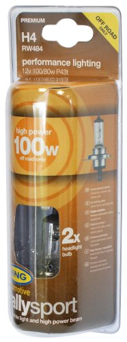 RING RW484 2 Ampoules H4 12V 100/80W Rally
