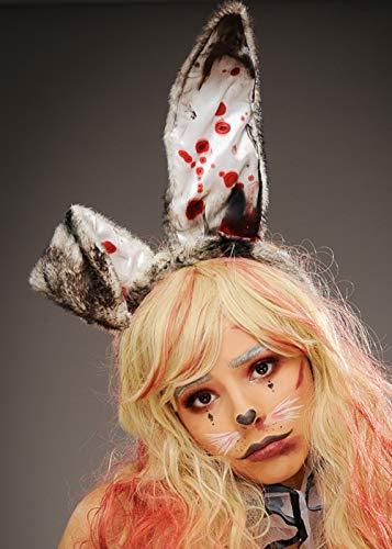 Magic Box Int. Halloween Bloody Zombie Bunny Ears auf Stirnband